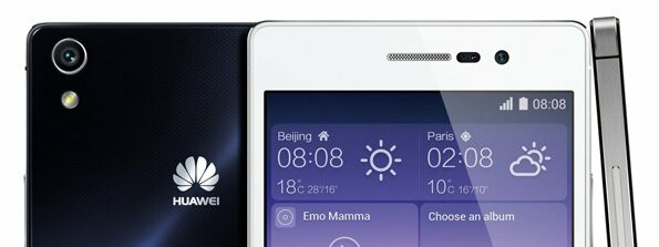 Huawei Ascend P7 Full Specifications Unveiled Top Image